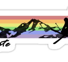 Off Piste Skiing Sticker