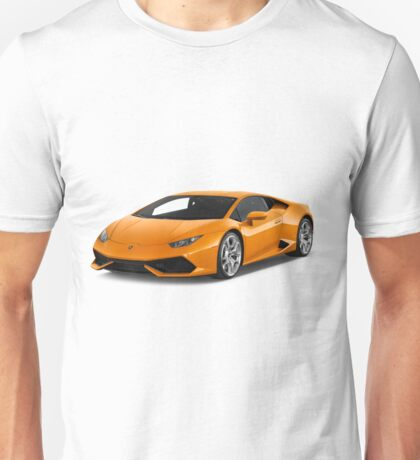 Lamborghini Huracan - Orange Unisex T-Shirt