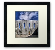 Transitional Industrial Utopia - .02 Framed Print