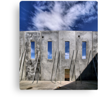 Transitional Industrial Utopia - .02 Canvas Print