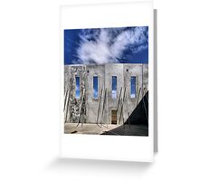 Transitional Industrial Utopia - .02 Greeting Card