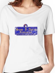 Sam-I-Am's Distressed Women's Relaxed Fit T-Shirt