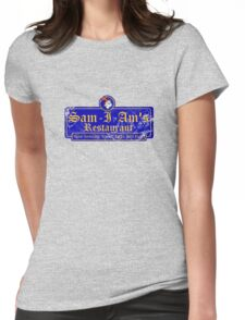 Sam-I-Am's Distressed Womens Fitted T-Shirt