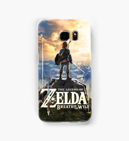 Zelda Breath of the Wild Cover Link Samsung Galaxy Case/Skin