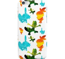 Hoenn Starters // Pokemon ORAS iPhone Case/Skin
