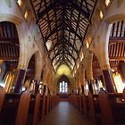 Saint Francis Xavier Cathedral Interior by Ben Loveday