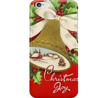 Beautiful Vintage Christmas Classic Retro Card iPhone Case/Skin