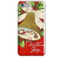Beautiful Vintage Christmas Classic Retro Card iPhone Case/Skin