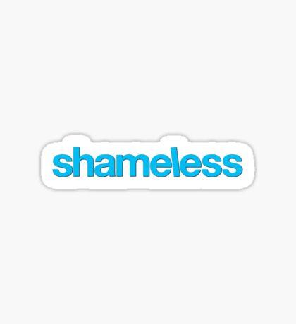 Shameless Netflix TV Show Title Sticker