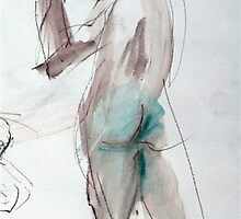 2007 Nude Male Study by Simon Collins