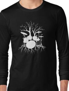 """Live the Beat to the Tempo of Creation"" ~ drum art , version1 Long Sleeve T-Shirt"