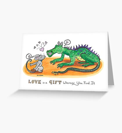 Love is a Gift Greeting Card