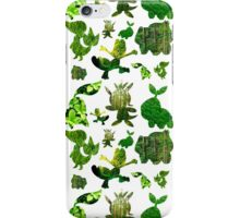 Grass Starters Pattern iPhone Case/Skin