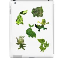 Grass Type Starters iPad Case/Skin