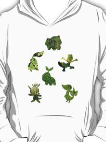 Grass Type Starters T-Shirt