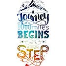 A Single Step Starts Your Journey by Jessica Caldwell