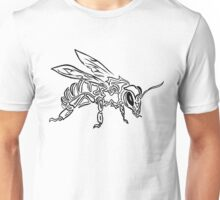 """Bee Spirit"" ver.1 - Surreal abstract tribal bee totem animal Unisex T-Shirt"