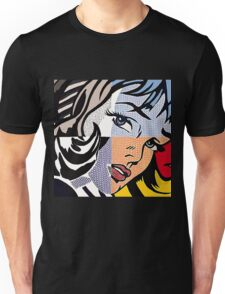 Lichtenstein's Girl Unisex T-Shirt