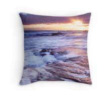 Bridgewater Bay sunset Throw Pillow