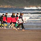 Autumn surfing by westray