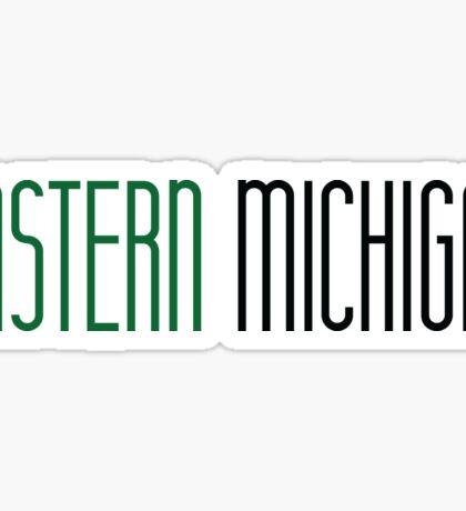 Eastern Michigan University Sticker