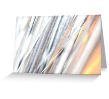 Silver Glow - JUSTART © Greeting Card