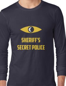 Nightvale secret police Long Sleeve T-Shirt
