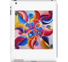 Mandala : Clown Chakra iPad Case/Skin