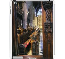 Sitting In The Choir Light iPad Case/Skin