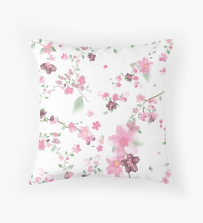 The Spring of Love Throw Pillow