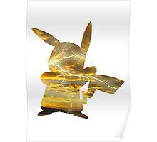 Pikachu used Thunderbolt Poster