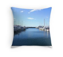 Nelson Bay Mariner Throw Pillow