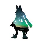 Mega Lucario used Aura Sphere by Gage White