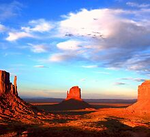 MONUMENT VALLEY (ARIZONA/UTAH) by Sandy O'Toole