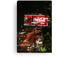 Red Light Fever Canvas Print