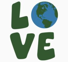 Love the Mother Earth Planet by TheShirtYurt