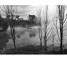sulfur ponds 2 Photographic Print