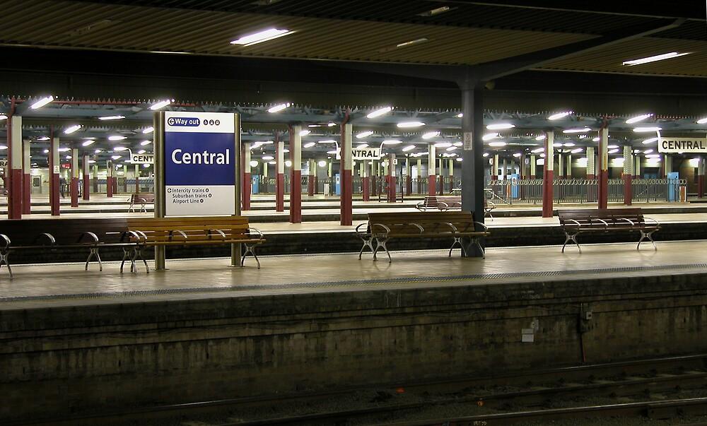 Central Rail Station,Sydney. by RailDen