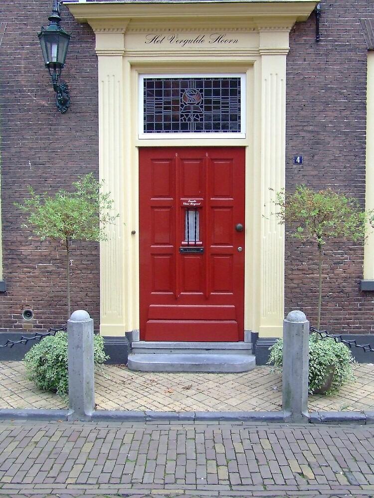 Red Door by Samara  Lee
