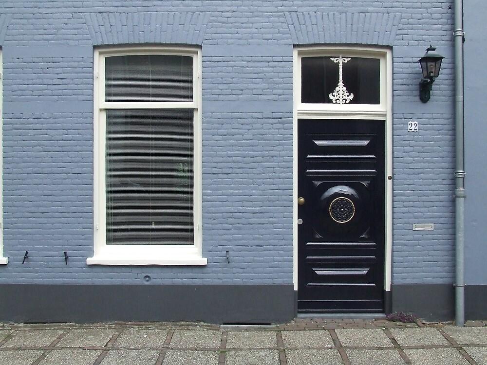 Black Door by Samara  Lee