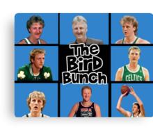 the bird bunch Canvas Print
