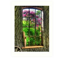 Window to Another World Art Print