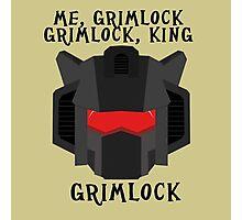 Me, Grimlock Photographic Print