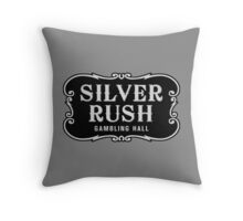 Silver Rush (Filled Version) Throw Pillow