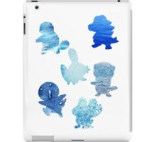 Water Type Starters iPad Case/Skin