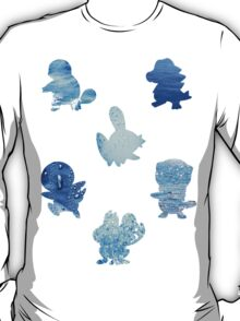 Water Type Starters T-Shirt