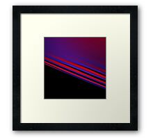 seven breaths Framed Print