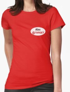 Alex from Target Womens Fitted T-Shirt