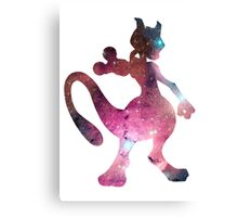 Mewtwo used Psystrike Canvas Print