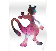 Mewtwo used Psystrike Poster